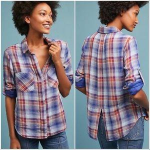 Cloth & Stone Double Pocket Button Down Shirt